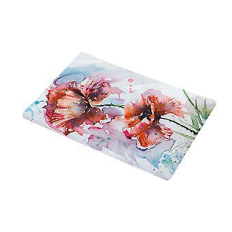 Flannel Flowers Door Mats Non-slip