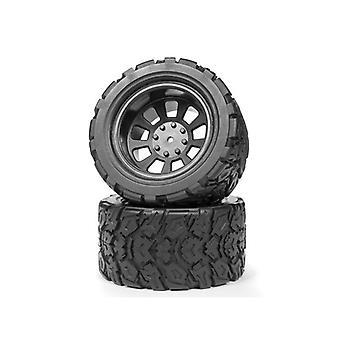Maverick 150041 Mounted Tires And Wheels (Pair)