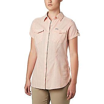 קולומביה מחנה הנרי השני חולצת טריקו, חולצת נשים, אפרסק ענן STR, M