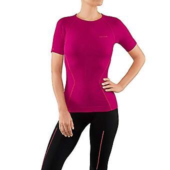 Falke Warm Tight Fit W S/S Sh, Women's Short Sleeve Shirt, Red (Berre), XS