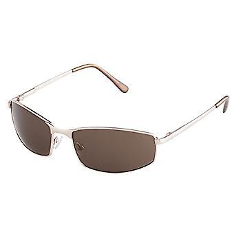 Burgmeister - نظارات شمسية SBM116-122 مستطيلة، رجالية، ذهبية