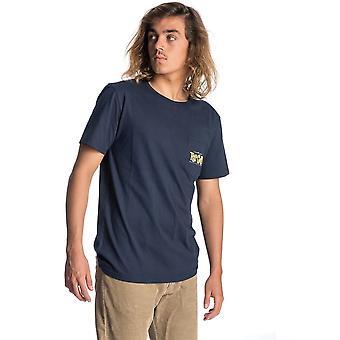 Rip Curl Drop i Bandit kortärmad T-shirt i mörkblå