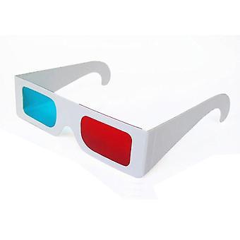 Aun einfache blaue rote 3d Brille, Led-Projektor