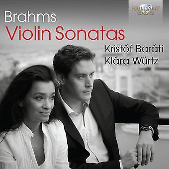 Barati, Kristof Klara Wurtz - Brahms: Violinsonater [CD] USA import