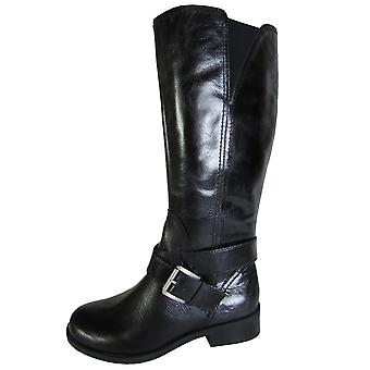 Me Too Womens Darcey Leather Riding Boot Shoe