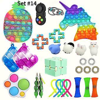 Sensorische fidget Spielzeug Stress Relief Spielzeug Set pl-408