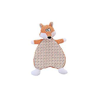 2Pcs fox leather shell dog molar teeth chewing toy containing sound paper az5270