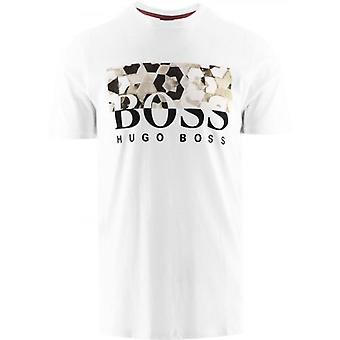 BOSS White Teally T-Shirt