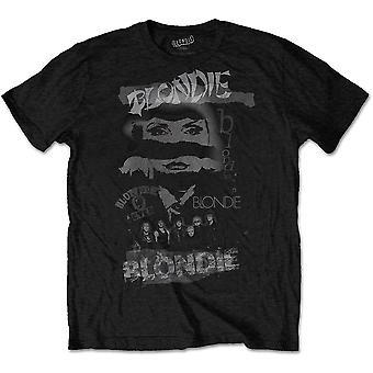 Blondie - Mash Up Men's Large T-Shirt - Black