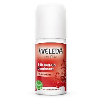 Weleda Granatapfel 24H Roll-On Deodorant 50 ml
