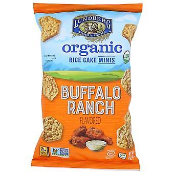 Lundberg Rice Cakes Bufal Rch Mini, Case of 6 X 5 Oz