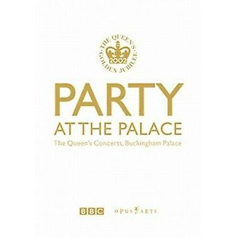 Party at the Palace - The Queens Concerts Buckingham Palace DVD (2002) cert E Regio 2