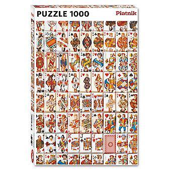 Piatnik Playing Cards Jigsaw Puzzle (1000 Pieces)