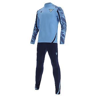2021-2022 Lazio Half Zip Tracksuit (Blue)