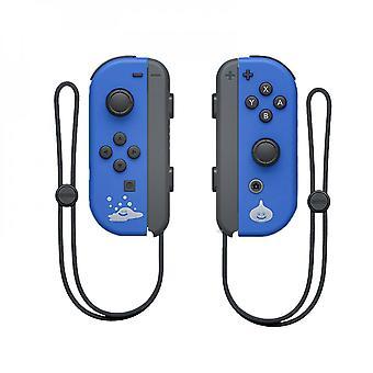 Bärbar trådlös Bluetooth Joy-con L/r-handkontroll kompatibel med Nintendo Switch-blue