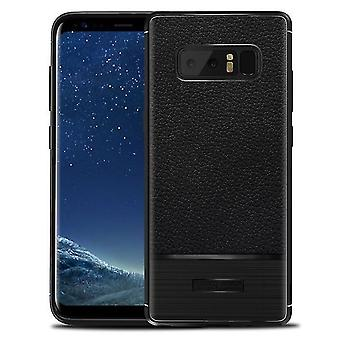 Soft Shockproof Protective Shell Case for Samsung Note 8 - Black