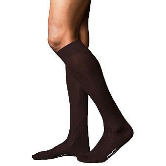 Falke No2 meilleurs Knee High chaussettes Cachemire - brun