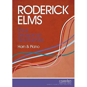 Four Seasonal Nocturnes For Horn And Piano Roderick Elms Camden Music