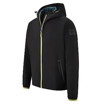 2021 Aston Martin F1 Official Lifestyle Rain Jacket (Black)