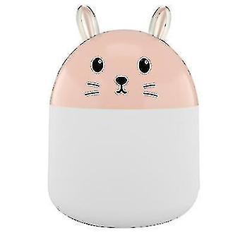 High quality 250ml usb mini household humidifier car aromatherapy moisturizer pink #4417