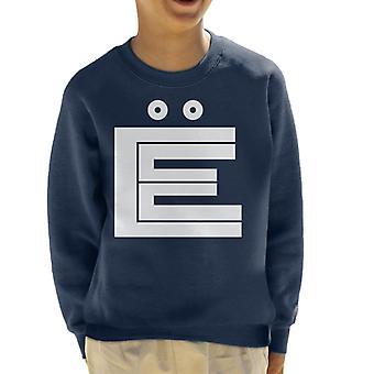 Citroen Vit linje Kid's Sweatshirt