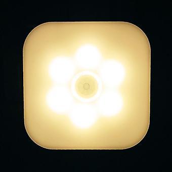 Led night wall lamp light smart motion sensor  home staircase closet aisle wc bedside lamp hallway pathway