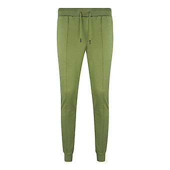 Philipp Plein Sport Lined Logo Green Sweatpants