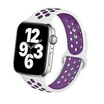 Silicone Strap For Apple Watch Band Accessories Wrist Belt Bracelet Set-1