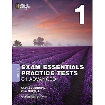EXAM ESSENTIALS:CAMBRIDGE C1� A DV PRACT TEST 1 W/KEY-REV 20