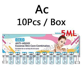 DLD Essenz Hautpflege Vitamin VC Aufhellung Falten, Boost Kollagen feuchtigkeitsbefeuchtend  Körper Glitter(Blau)