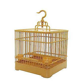 Vtáčie hračky montáž vtáčej klietky s podávačom a vodárom drozdovej klietky pre vtáky bird klietky hniezda