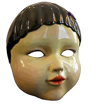 Juego de calamares Máscara de cosplay Fancy Dress Máscara de fiesta 123 Personas de madera