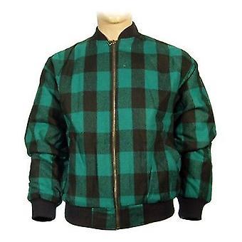 Mens nieuwe Lumberjack Outdoors gewatteerde Flight Jacket