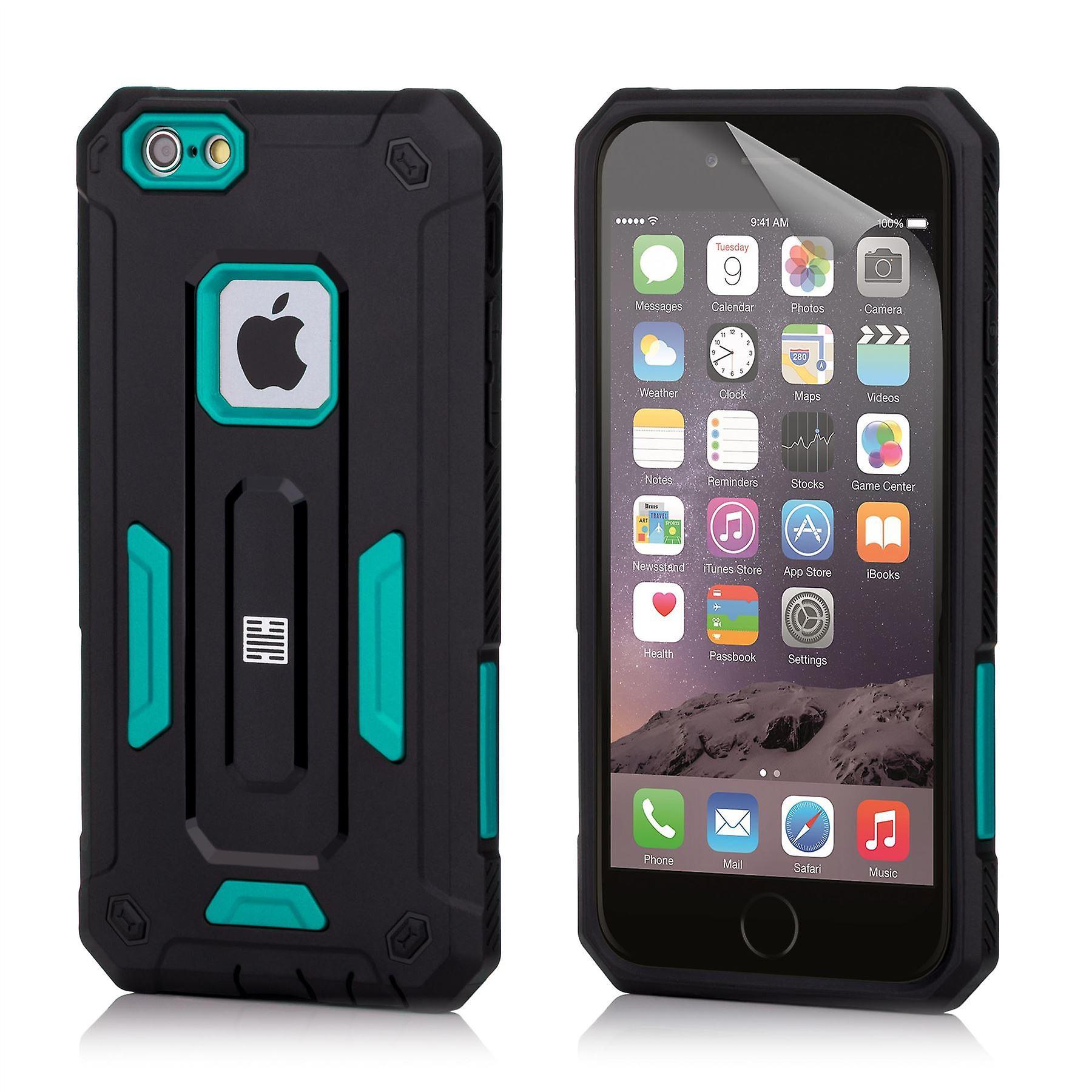 32nd Hard Defender case for Apple iPhone 6 6S - Deep Blue