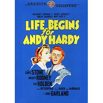 Life Begins for Andy Hardy [DVD] USA import