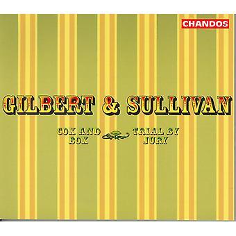 Sullivan/Gilbert - Gilbert & Sullivan: Cox & Box; Rättegång med Jury [CD] USA import