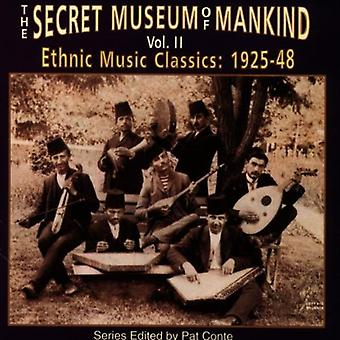 Secret Museum of Mankind - Secret Museum of Mankind: Vol. 2-Ethnic Music Classics [CD] USA import