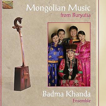 Badma Khanda Ensemble - Mongoolse muziek van Boerjatië [CD] USA import