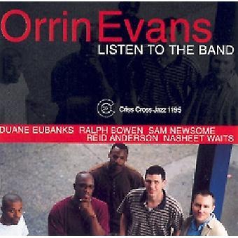 Orrin Evans - Listen to the Band [CD] USA import