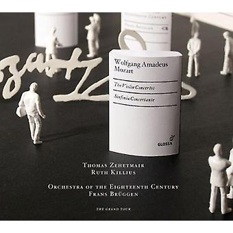 Thomas Zehetmair - Mozart: Violin Concertos, Sinfonia Concertante [CD] USA import