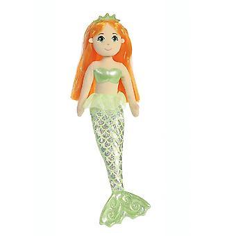 Aurora verden sjøen glitrar Amber Mermaid plysj leketøy