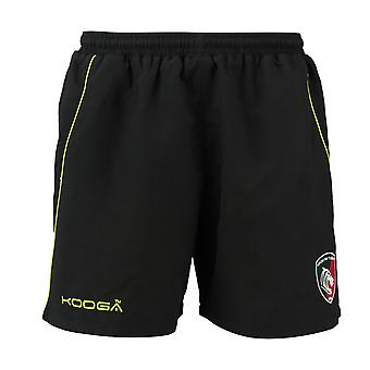 KOOGA leicester tigers rugby gym shorts [black]