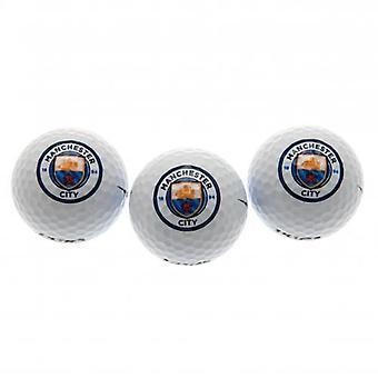 Manchester City Golfbälle