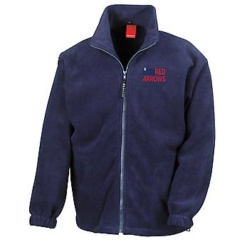 RAF Red Arrows Logo - officiell Royal Air Force Full Zip Fleece