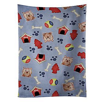 Dog House kolekcji Yorkie Yorkishire Terrier Ręcznik kuchenny