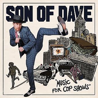 Dave - musiikkia Cop osoittaa [CD] Yhdysvallat tuo poika