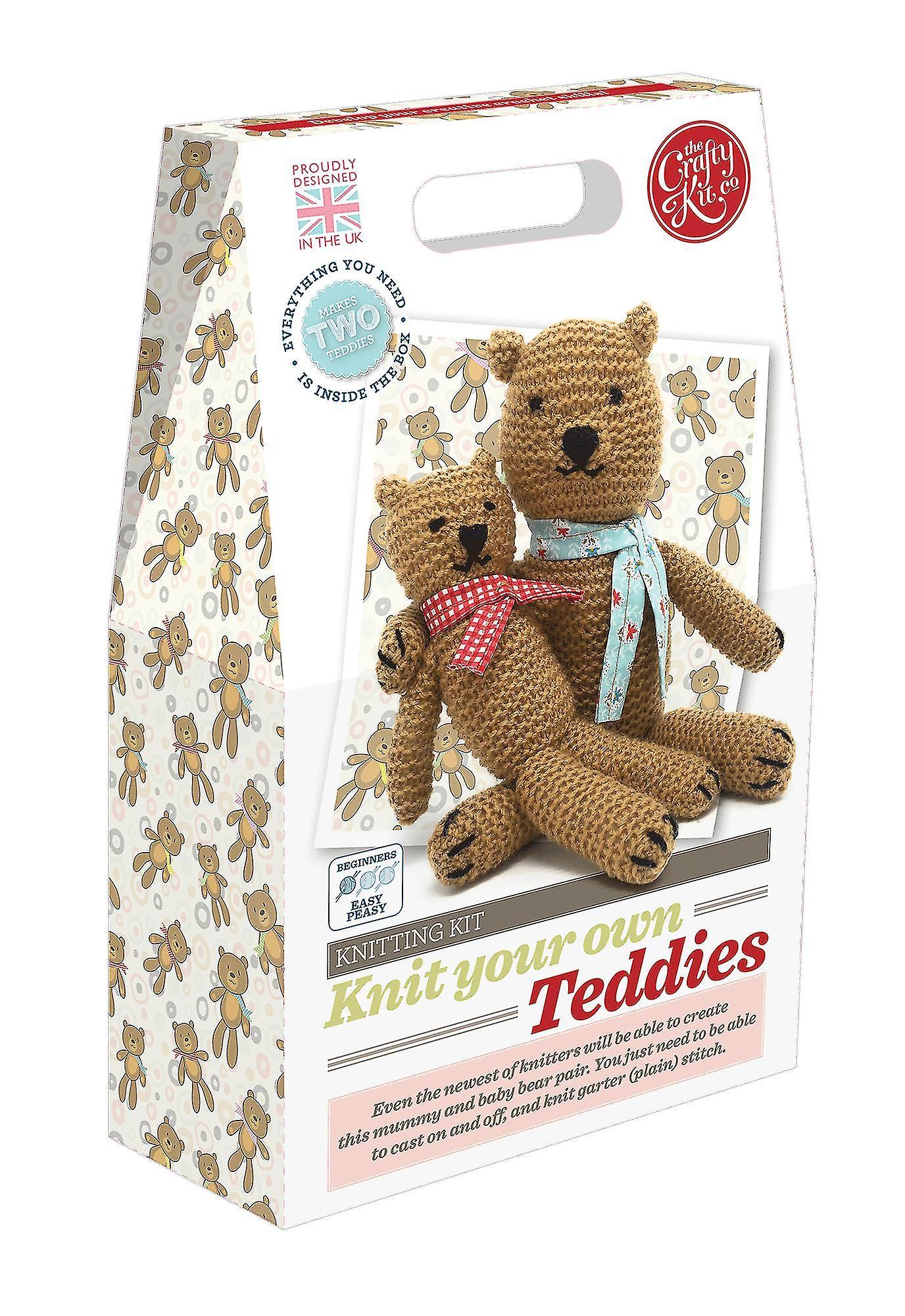 Tricotar o seu próprio Kit de ursinhos