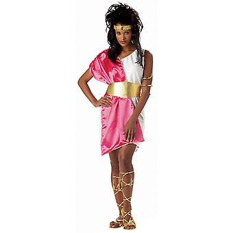 Toga Greek Roman Spartan Goddess Sparta Ancient Womens Costume STD