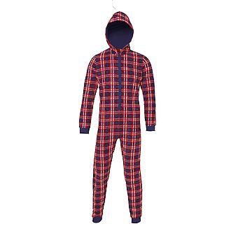 Christmas Shop Adult Unisex Tartan Winter Onesie