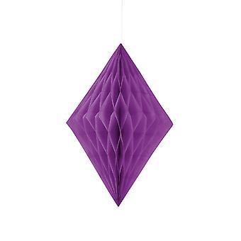 Unique Party 14 Inch Diamond Paper Decorations